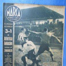 Coleccionismo deportivo: MARCA. SUPLEMENTO GRÁFICO DE LOS MARTES. AÑO I. 1 DE DICIEMBRE DE 1942. NUM. 1.. Lote 74626911