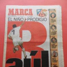 Coleccionismo deportivo: DIARIO MARCA 1997 RAUL GONZALEZ REAL MADRID ATLETICO LIGA 96/97 CAPELLO-ANTIC-CARLOS SAINZ. Lote 74665155
