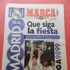 Coleccionismo deportivo: SUPLEMENTO ESPECIAL DIARIO MARCA PRESENTACION REAL MADRID 98/99-PLANTILLA TEMPORADA 1998/1999. Lote 74673539