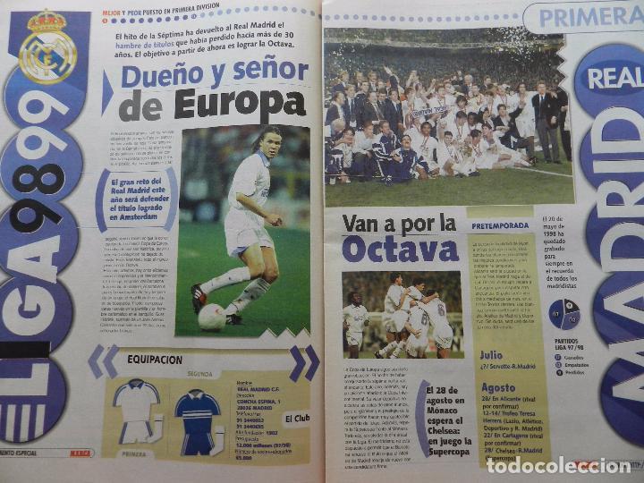 Coleccionismo deportivo: SUPLEMENTO ESPECIAL DIARIO MARCA PRESENTACION REAL MADRID 98/99-PLANTILLA TEMPORADA 1998/1999 - Foto 2 - 74673539