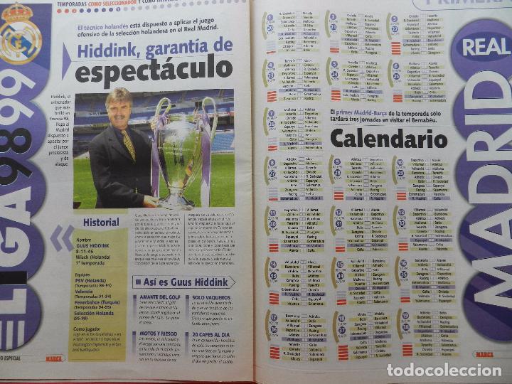 Coleccionismo deportivo: SUPLEMENTO ESPECIAL DIARIO MARCA PRESENTACION REAL MADRID 98/99-PLANTILLA TEMPORADA 1998/1999 - Foto 5 - 74673539