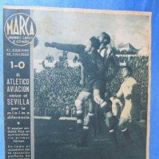 Coleccionismo deportivo: MARCA. SUPLEMENTO GRÁFICO DE LOS MARTES. AÑO II. 9 DE FEBRERO DE 1943. NUM. 11.. Lote 74685607