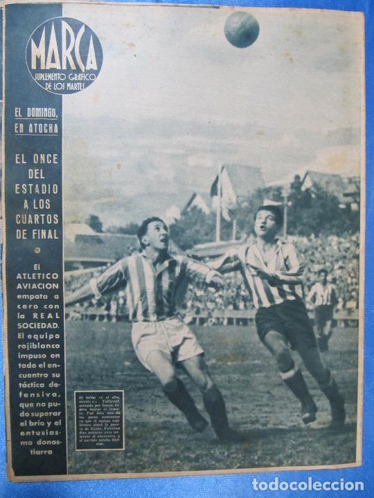 Coleccionismo deportivo: MARCA. SUPLEMENTO GRÁFICO DE LOS MARTES. AÑO II. 18 DE MAYO DE 1943. NUM. 25. - Foto 3 - 74686983