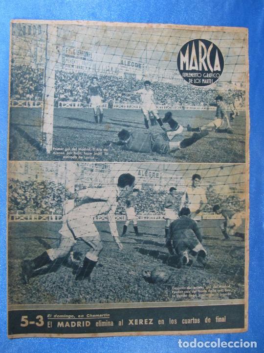 MARCA. SUPLEMENTO GRÁFICO DE LOS MARTES. AÑO II. 1 DE JUNIO DE 1943. NUM. 27. (Coleccionismo Deportivo - Revistas y Periódicos - Marca)