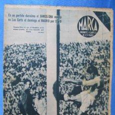 Coleccionismo deportivo: MARCA. SUPLEMENTO GRÁFICO DE LOS MARTES. AÑO II. 8 DE JUNIO DE 1943. NUM. 28. BARCELONA / MADRID.. Lote 74687915
