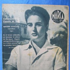 Coleccionismo deportivo: MARCA. SUPLEMENTO GRÁFICO DE LOS MARTES. AÑO II. 13 DE JULIO DE 1943. NUM. 33. GOLF, BOXEO.. Lote 74695391