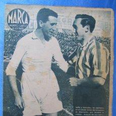 Coleccionismo deportivo: MARCA. SUPLEMENTO GRÁFICO DE LOS MARTES. AÑO II. 30 DE MARZO DE 1943. NUM. 18. LIGA DE FÚTBOL.. Lote 74695803