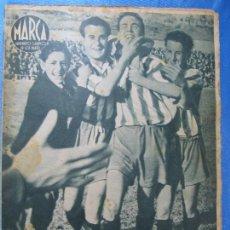 Coleccionismo deportivo: MARCA. SUPLEMENTO GRÁFICO DE LOS MARTES. AÑO II. 20 DE ABRIL DE 1943. Nº 21. ESPAÑOL PROMOCIÓN.. Lote 74697299
