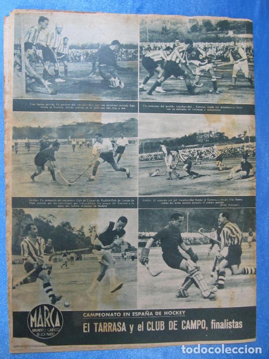 Coleccionismo deportivo: MARCA. SUPLEMENTO GRÁFICO DE LOS MARTES. AÑO II. 20 DE ABRIL DE 1943. Nº 21. ESPAÑOL PROMOCIÓN. - Foto 3 - 74697299