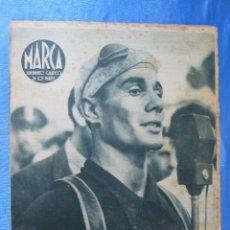 Coleccionismo deportivo: MARCA. SUPLEMENTO GRÁFICO DE LOS MARTES. AÑO II. 27 DE JULIO DE 1943. NUM. 35 CICLISMO.. Lote 74738063