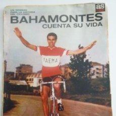 Coleccionismo deportivo: LOTE COLECCIONABLES APARECÍAN REVISTA AS COLOR BOXEO LEGRÁ, BALONCEST EMILIANO, CICLISMO BAHAMONTES. Lote 74845107
