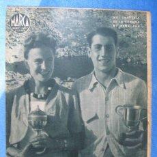 Coleccionismo deportivo: MARCA. SUPLEMENTO GRÁFICO DE LOS MARTES. AÑO II. 17 DE AGOSTO DE 1943. Nº 38. . Lote 74945551