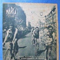 Coleccionismo deportivo: MARCA. SUPLEMENTO GRÁFICO DE LOS MARTES. AÑO II. 31 DE AGOSTO DE 1943. Nº 40.. CICLISMO.. Lote 74945903