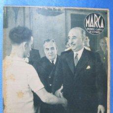 Coleccionismo deportivo: MARCA. SUPLEMENTO GRÁFICO DE LOS MARTES. AÑO II. 24 DE AGOSTO DE 1943. Nº 39. REMO, BOXEO.. Lote 74946227