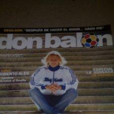 Coleccionismo deportivo: DON BALÓN N° 1541 FORLAN SISSOKO POSTER DECO (BARCELONA). Lote 75132741