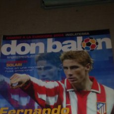 Coleccionismo deportivo: DON BALÓN N°1485 POSTER RONALDO DEL REAL MADRID. Lote 75133150