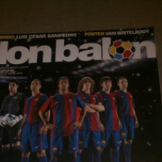Coleccionismo deportivo: DON BALÓN N° 1609 BARCELONA POSTER VAN NISTELROOY REAL MADRID. Lote 75135810
