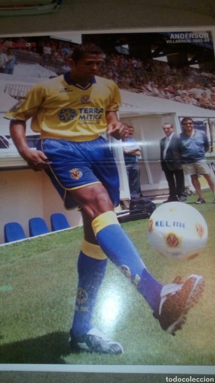 Coleccionismo deportivo: Don balón n°1449 ronaldinho,simeone poster de anderson del villarreal - Foto 2 - 75241457