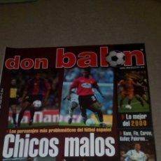 Coleccionismo deportivo: DON BALÓN N°1316 DARIO SILVA, TURU FLORES BOCA JUNIORS EN POSTER. Lote 75244810