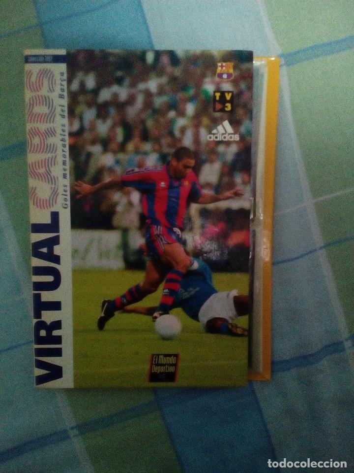 VIRTUAL CARDS FUTBOL CLUB BARCELONA FCB COMPLETO CROMOS NO BOLLYCAO,CROPAN (Coleccionismo Deportivo - Revistas y Periódicos - Mundo Deportivo)