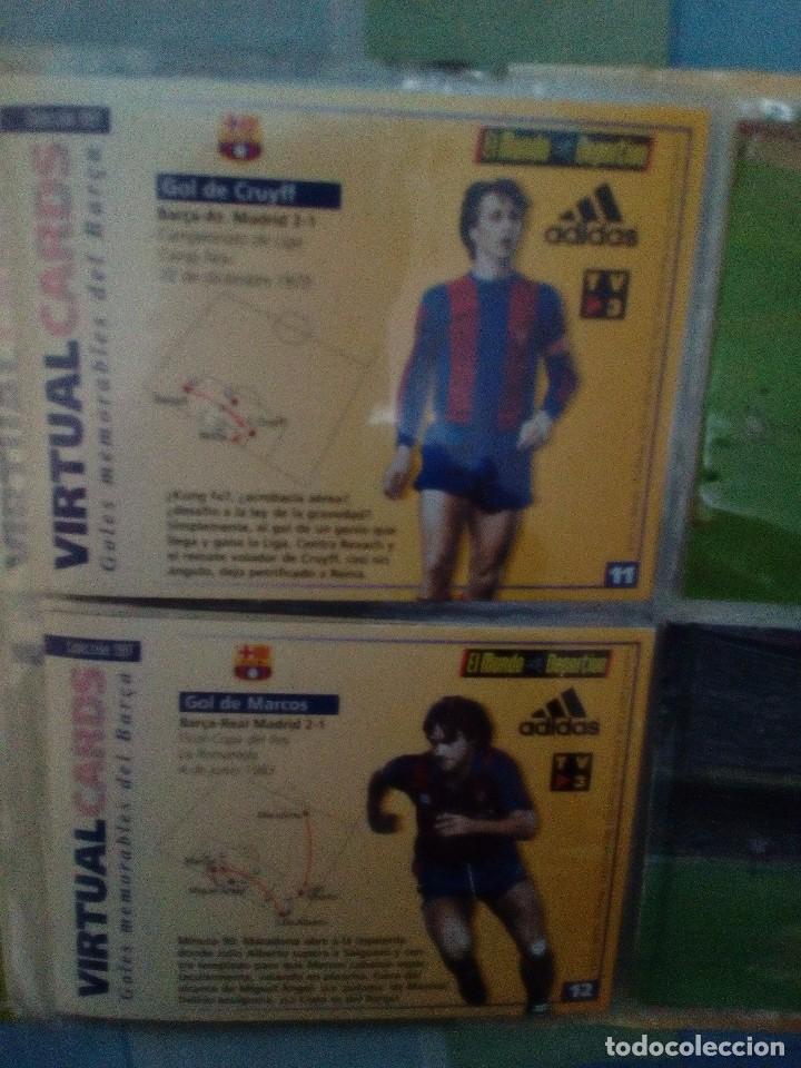 Coleccionismo deportivo: Virtual cards futbol club barcelona fcb completo Cromos no bollycao,cropan - Foto 2 - 75258715