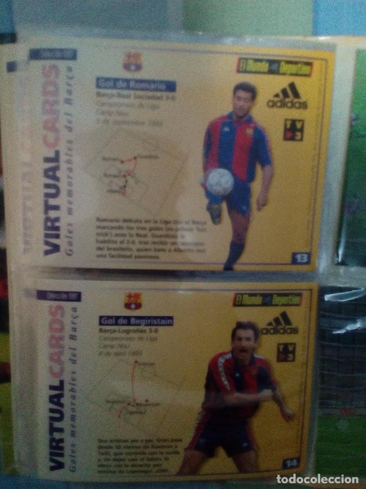Coleccionismo deportivo: Virtual cards futbol club barcelona fcb completo Cromos no bollycao,cropan - Foto 3 - 75258715