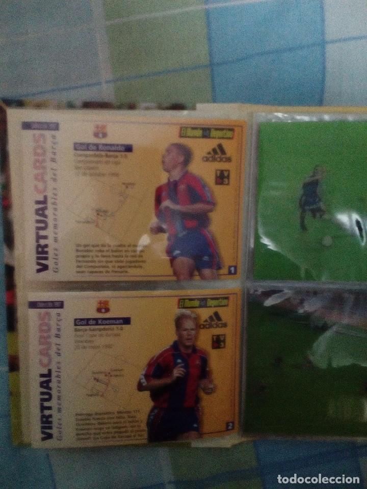 Coleccionismo deportivo: Virtual cards futbol club barcelona fcb completo Cromos no bollycao,cropan - Foto 5 - 75258715