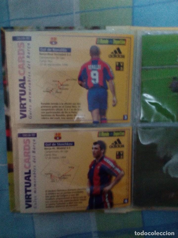 Coleccionismo deportivo: Virtual cards futbol club barcelona fcb completo Cromos no bollycao,cropan - Foto 6 - 75258715