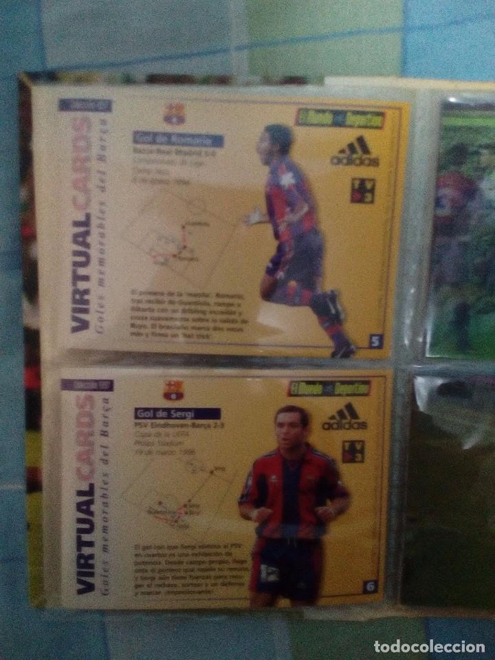 Coleccionismo deportivo: Virtual cards futbol club barcelona fcb completo Cromos no bollycao,cropan - Foto 7 - 75258715