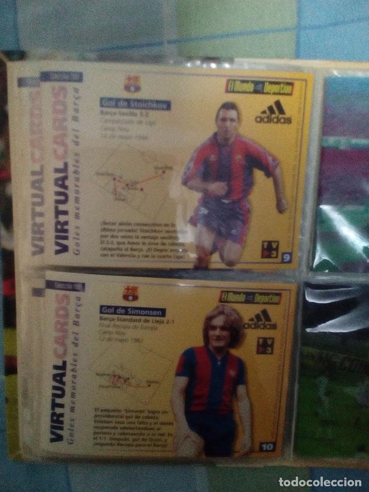 Coleccionismo deportivo: Virtual cards futbol club barcelona fcb completo Cromos no bollycao,cropan - Foto 9 - 75258715