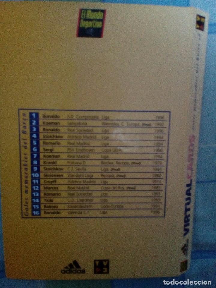 Coleccionismo deportivo: Virtual cards futbol club barcelona fcb completo Cromos no bollycao,cropan - Foto 10 - 75258715