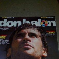 Coleccionismo deportivo: DON BALÓN N°1617 RAUL,POSTER INIESTA APENDICE LIGA 06/07. Lote 75404973