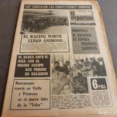 Coleccionismo deportivo: (MS)MUNDO DEPORTIVO(19-9-73)HOY COPAS EUROPEAS,NIZA-BARÇA,ESPAÑOL-RACING WHITE,IPSWICH TOWN-R.MADRID. Lote 75459327