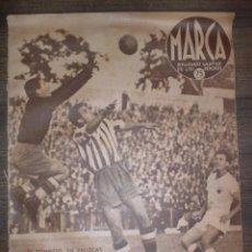 Coleccionismo deportivo: MARCA SEMANARIO GRÁFICO DE LOS DEPORTES. AÑO IV. SEPTIEMBRE 1941. Nº138. LEER.. Lote 75570791