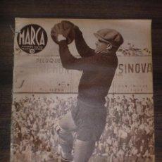 Coleccionismo deportivo: MARCA SEMANARIO GRÁFICO DE LOS DEPORTES. AÑO V. ABRIL 1942. Nº171. MADRID GANA A CASTELLON. LEER.. Lote 75574207