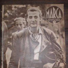Coleccionismo deportivo: MARCA SEMANARIO GRÁFICO DE LOS DEPORTES. AÑO IV. JULIO DE 1941. Nº127. 1ER CAMPEONATO MOTO MILITAR.. Lote 75580319