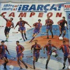 Coleccionismo deportivo: PÓSTER DEL BARÇA TEMPORADA 1997/1998. Lote 75585083