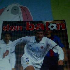 Coleccionismo deportivo: DON BALON N°1379 CAMINERO,REAL SOCIEDAD LAS PALMAS EN POSTER. Lote 75621009