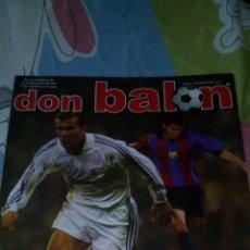 Coleccionismo deportivo: DON BALÓN N° 1368 AIMAR,ZIDANE,SAVIOLA.... Lote 75621446