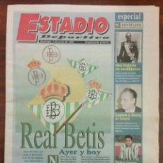 Coleccionismo deportivo: SUPLEMENTO DEL PERIODICO, ESTADIO DEPORTIVO(1997).. Lote 76020426