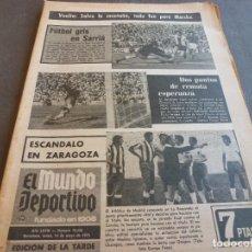 Collezionismo sportivo: (MS)MUNDO DEPORTIVO(14-5-73)GRANADA 0 BARÇA 2,ESPAÑOL 1 R.SOCIEDAD 1,MERCKX,. Lote 76677407