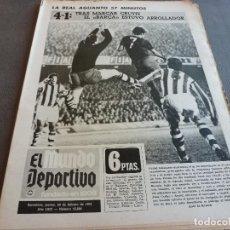 Coleccionismo deportivo: (MS)MUNDO DEPORTIVO(28-2-74)BARÇA 4 R.SOCIEDAD 1,URRUTI,PUIGVIÑETA,HANDBOL,ESPAÑOL.. Lote 76687015
