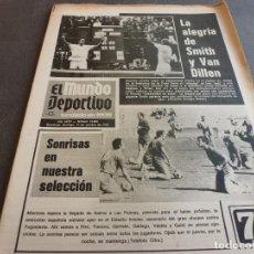 Coleccionismo deportivo: (MS)MUNDO DEPORTIVO(15-10-72)EL SAN ANDRÉS A L PASARÓN,ZALDUA(SABADELL)KUBALA ,ADIÓS A CALLEJA. Lote 76741527