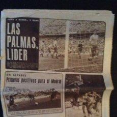 Coleccionismo deportivo: DIARIO AS N 560. 22 DE SEPTIEMBRE 1969. Lote 76781747