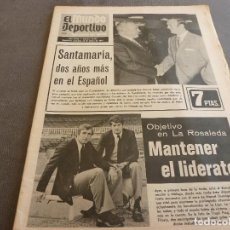 Coleccionismo deportivo: (MS)MUNDO DEPORTIVO(25-3-73)CASTELLÓN 2 L.PALMAS 1,AGUILAR(DEPOR)SEAT-132,ARIAS(MALAGA). Lote 76788827