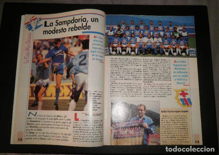 Coleccionismo deportivo: Revista Sport. Especial previo final Copa de Europa FC Barcelona vs Sampdoria. Champions, 1992 - Foto 2 - 76810119