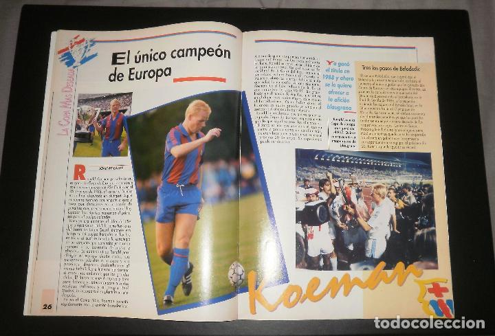 Coleccionismo deportivo: Revista Sport. Especial previo final Copa de Europa FC Barcelona vs Sampdoria. Champions, 1992 - Foto 3 - 76810119