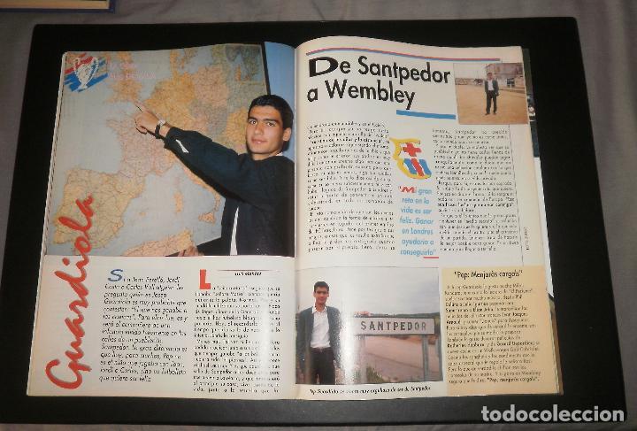 Coleccionismo deportivo: Revista Sport. Especial previo final Copa de Europa FC Barcelona vs Sampdoria. Champions, 1992 - Foto 4 - 76810119