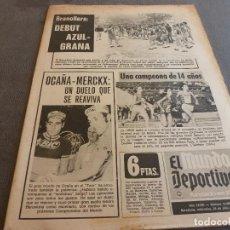 Coleccionismo deportivo: (MS)MUNDO DEPORTIVO(25-7-73)HOY GRANOLLERS-BARÇA,BARÇA AT.73-74,SABADELL,ESNAOLA Y URRUTI(R.SOCIEDAD. Lote 77140505