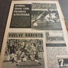 Colecionismo desportivo: (MS)MUNDO DEPORTIVO(16-12-73)URIA MARCARÁ JOHAN CRUYFF EN OVIEDO,ELADIO(HERCULES)REAL SOCIEDAD,ESQUÍ. Lote 77572649